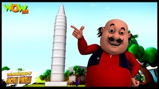Athwa Ajooba - Motu Patlu in Hindi WITH ENGLISH, SPANISH & FRENCH SUBTITLES