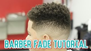 How to do Nice Fade Haircut with Wahl Cordless Clipper   Barber Tutorial