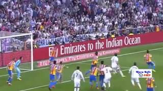 أهداف مباراة ريال مدريد وفالنسيا 2 2