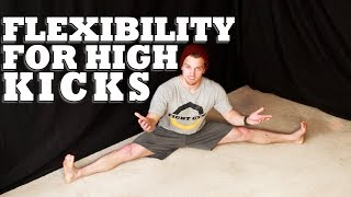 How to Increase Flexibility for High Kicks | Martial Arts Stretching