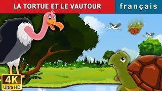 LA TORTUE ET LE VAUTOUR | Tortoise and Vulture Story in French | 4K UHD | Contes De Fées Français