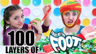 100+ LAYERS OF FRUIT BY THE FOOT (4.7 LBS!)