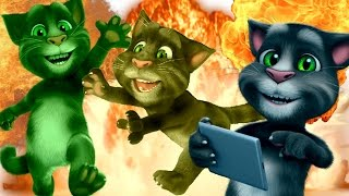 Reverse Talking Tom Cat Colors Reaction Compilation Reverse 2017