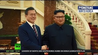 'New era': North & South Korea sign military agreement to 'end the history of tragic conflict'