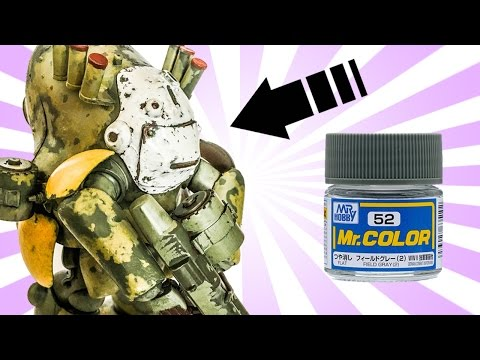 Ma.K Weathering Mr Color Base Coat by Lincoln Wright