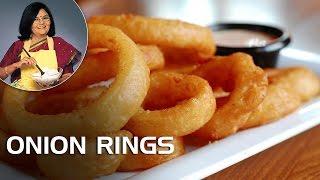 How To Make Onion Rings? | Master Chef Tarla Dalal