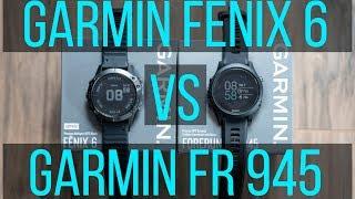 Garmin Fenix 6 Pro vs Garmin Forerunner 945 Review - What
