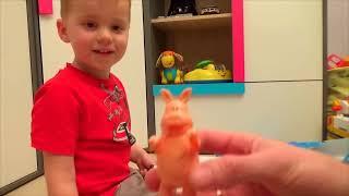 Распаковка Игры Барашек Шон целая ферма  Shaun the Sheep toys