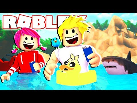 It's Summer Vacation Time in Roblox...with Sharks?!