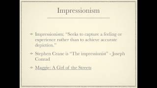 Literature: Stephen Crane Biography