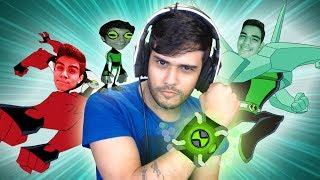 GTA V Online: A CORRIDA do BEN 10 com OS BETAS!! 👽