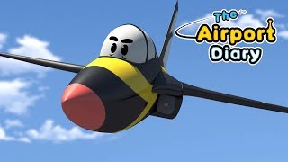 The Airport Diary ✈ Compilation 🚀 Best episodes - Cartoons about planes - Best animation for kids