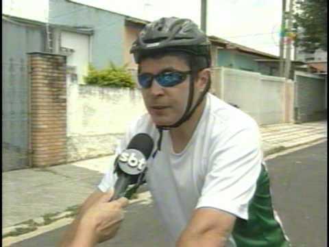 Matéria do SBT Noticidade da cidade de Sorocaba da Bicicleta Elétrica.VOB