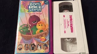 Opening & Closing To Barney's Big Surprise! 2000 VHS