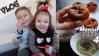 Ce mănâncă 2 copilași sub 4 ani într-o zi   ep 4  VLOG