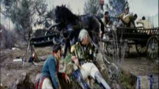 AUSTERLITZ - The Battle itself - Dec 2, 1805 - Part  4/4 The End - Abel Gance (1960)