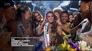Miss Universe 2016 After Crowning Moment