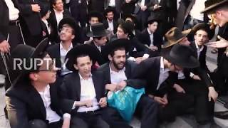 Israel: Several held as ultra-Orthodox military protest enters 2nd day