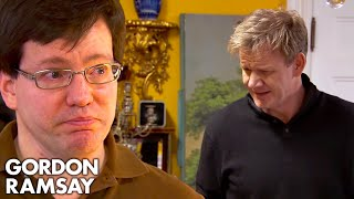 Ramsay Cannot Believe the Owner Steals His Own Staff's Tips!   Hotel Hell