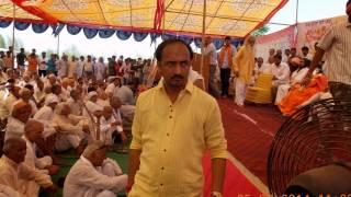 Go Bhakt Shahid Vir Vikrant Yadav ki Murti anavaran....