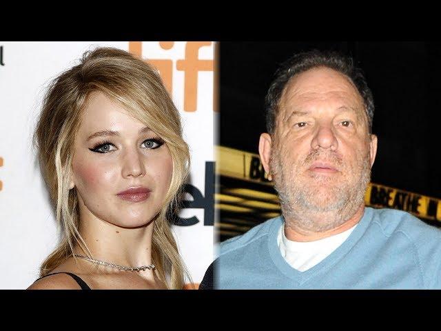 Jennifer Lawrence BLASTS Harvey Weinstein & More Stars Speak Out