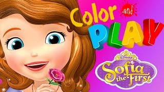 Sofia The First Color And Play - Cedric
