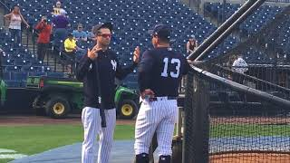 Alex Rodriguez joins Yankees at spring training