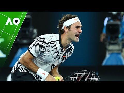 Roger Federer s 36 best points from the Australian Open
