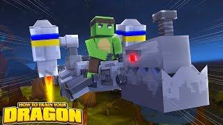 THE ROBOT DRAGON AWAKES! - How To Train Your Dragon w/TinyTurtle