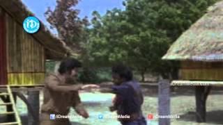 Siripuram Monagadu Movie - Krishna, Jayaprada, Baby Meena Action Scene