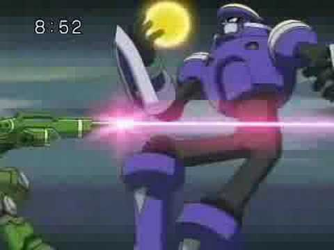 Raika and Searchman Cross fusion!