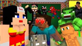 Monster School : HALLOWEEN COSTUME CONTEST - Minecraft Animation