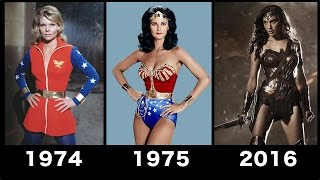 Wonder woman Transformation Movie [1974-2016] - Compilation