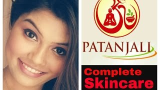 A whole skincare routine using just patanjali products(under monthly expenditure of RS.300)