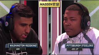 Madden 18 | JoelCP Vs. Gos | Madden Ultimate League