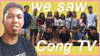 VLOG # 7 : We saw Cong Tv   Christine Santos