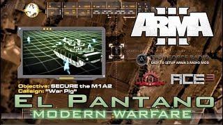 [ArmA 3](COD4-MW2) EL PANTANO - Coop.38 Gameplay en Español [1080p60 Ultra] En Directo