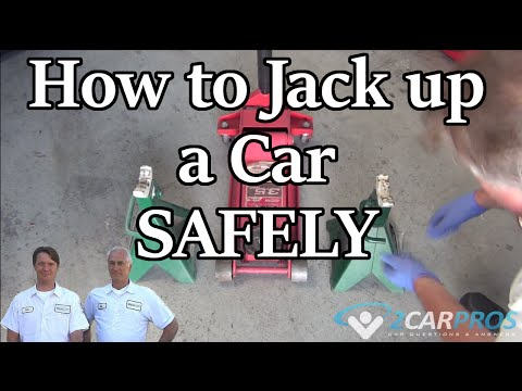 How to Safely Jack and Lift Up Your Car Using Jack Stands