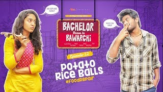 Potato Rice Balls | Bachelor Room lo Bawarchi - Cooking Diary 12 | Chai Bisket Food