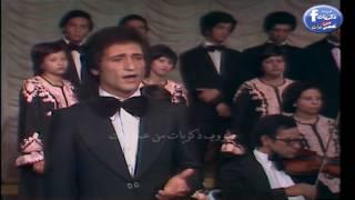 محمد الحلو قبل الشهرة فى كورس الموسيقى العربية فى اواخر السبعينات