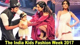 H0t Actress Nia Sharma At The India Kids Fashion Week 2017