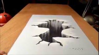 KEREN, Trick Menggambar 3D di Kertas