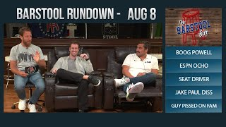 Barstool Rundown - August 8, 2017