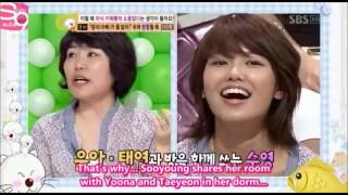 """SNSD Sooyoung's Mom - """"Her Room is a GARBAGE CAN"""""""