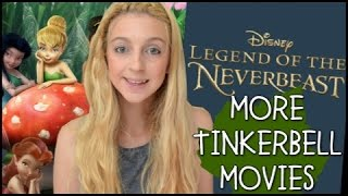 Upcoming Future Tinkerbell Movies! 6,7,8?! Legends Of The Neverbeast