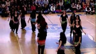 Irvington High School Rally 4-2012 - BELLY DANCE (part 4).