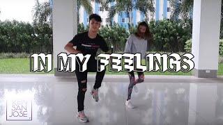 DRAKE - IN MY FEELINGS Dance & Tutorial | Ken San Jose ft. Pamela Swing