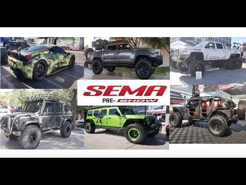 Xxx Mp4 SEMA 2018 Pre Show Walking Around The Parking Lot Before The Show Opens 3gp Sex