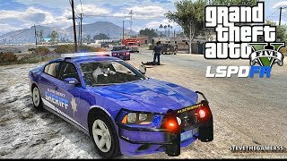 LSPDFR #493 SHERIFF PATROL!! (GTA 5 REAL LIFE POLICE PC MOD) PART 2