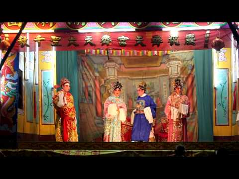 Chinese opera in Tiong Bahru